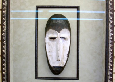 African Mask Shadow Box(2)