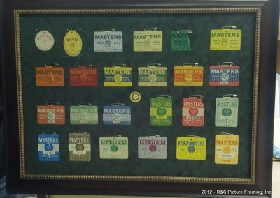 Masters Golf Badges