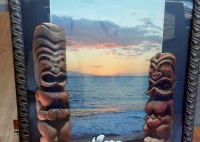 Tikis and Ocean View