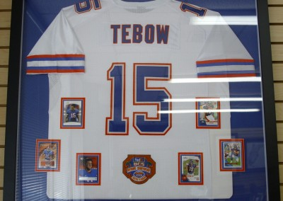 Tim Tebow College Jersey and BCS Patch