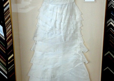 Wedding Gown with Invitation and Photo (Finished)